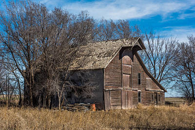 Farm Scene Photograph - New Mexico Barn by Paul Freidlund