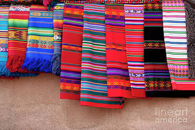 Photograph - New Mexico Blankets by Sharon Foelz