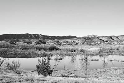 Photograph - New Mexico Desert Lake by Andrea Hazel Ihlefeld