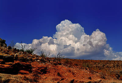 Photograph - New Mexico Desert Sky 002 by George Bostian