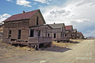Photograph - New Mexico Ghost Town by Kevin McCarthy