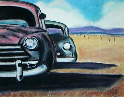 New Mexico Junkyard Art Print