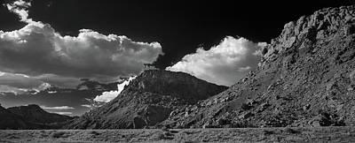 New Mexico Landscape B W Art Print by Steve Gadomski