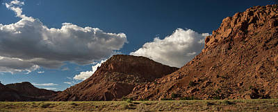 New Mexico Landscape Art Print by Steve Gadomski