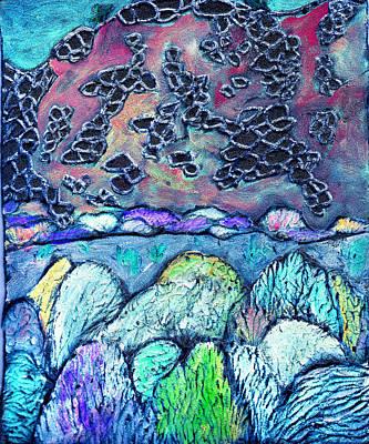 New Mexico Landscape Art Print by Wayne Potrafka