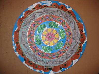 Painting - New Mexico Mandala by Amanda  Lynne