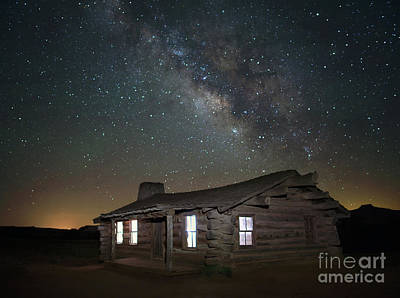 Photograph - New Mexico Night Sky by Art Cole