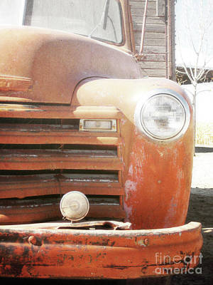 Photograph - New Mexico Old Farm Truck by Andrea Hazel Ihlefeld