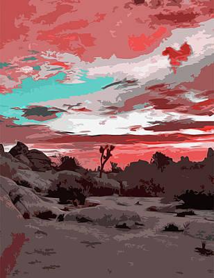 Painting - New Mexico Panorama by Andrea Mazzocchetti