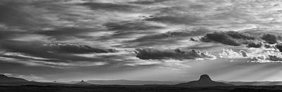 Photograph - New Mexico Panorama I by Dave Gordon