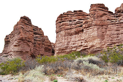 Photograph - New Mexico Red Rock Mountain Canyon by Andrea Hazel Ihlefeld