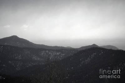 Photograph - New Mexico Santa Fe Mountain Storm Classic by Andrea Hazel Ihlefeld