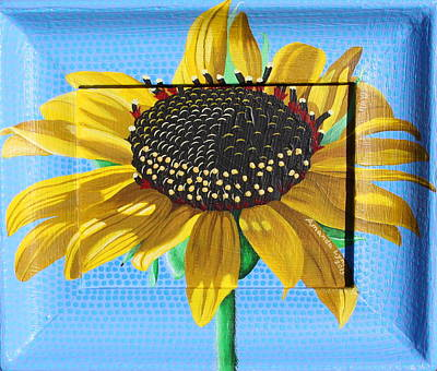 Painting - New Mexico Sunflower by Amanda  Lynne