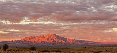 Photograph - New Mexico Sunrise by Alan Vance Ley