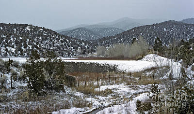 Photograph - New Mexico Winter by Kevin McCarthy