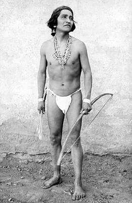 Photograph - New Mexico: Zuni Runner by Granger
