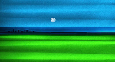 Microsoft Painting - New Moon by Sir Josef - Social Critic -  Maha Art