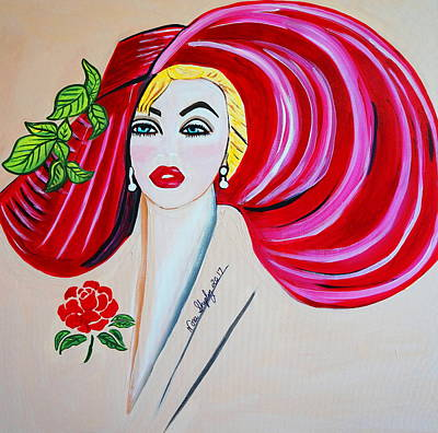 Painting - New Norma Jean by Nora Shepley