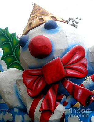 Photograph - New Orleans Christmas Mr. Bingle by Michael Hoard