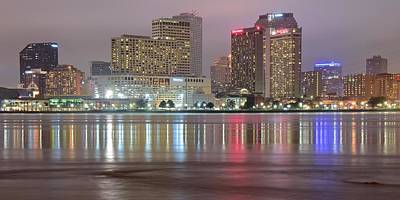Photograph - New Orleans Across The Mississippi by Frozen in Time Fine Art Photography