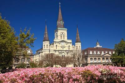 Photograph - Jackson Square New Orleans by Adam Jewell