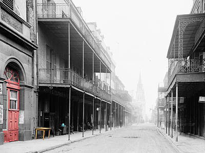 Chartres Photograph - New Orleans by Andrew Fare