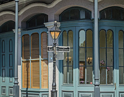 Photograph - New Orleans - Architecture by Allen Sheffield