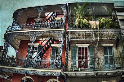 Photograph - New Orleans Balconies No. 4 by Tammy Wetzel