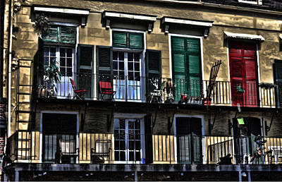 New Orleans Balcony Art Print