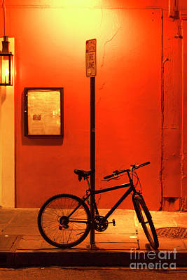 Photograph - New Orleans Bicycle by John Rizzuto