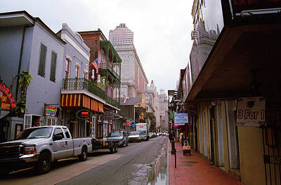 Photograph - New Orleans Bourbon Street 2004 #45 by Frank Romeo