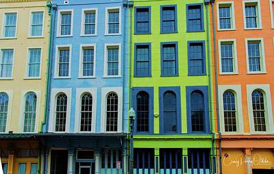 Photograph - New Orleans Buildings by Craig Perry-Ollila
