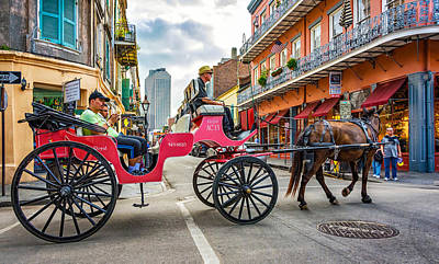 New Orleans - Carriage Ride 2 Art Print