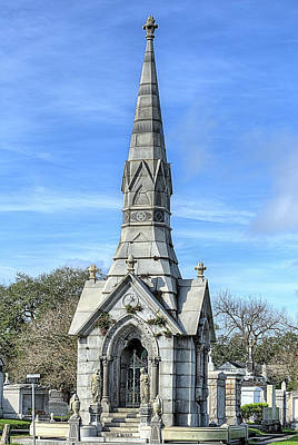 New Orleans Cemeteries Photograph - New Orleans Cemeteries by JC Findley