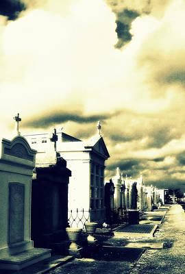 Photograph - New Orleans Cemetery by Susan Lafleur