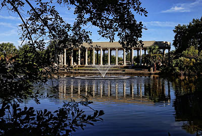 Photograph - New Orleans City Park Peristyle 2 by Judy Vincent