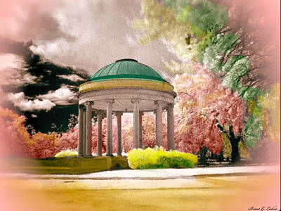 Brian Lukas Photograph - New Orleans City Park - The Bandstand by Brian Lukas