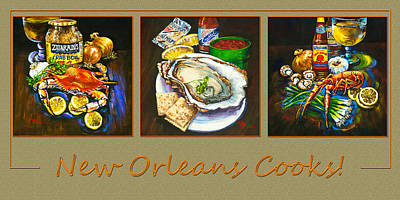 Painting - New Orleans Cooks by Dianne Parks