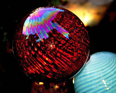 Photograph - New Orleans Cosmic Evolution Urban Glass Spheres by Michael Hoard