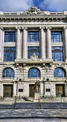 Photograph - New Orleans Court Building by Tammy Wetzel