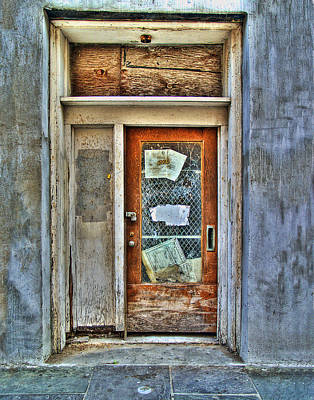 Photograph - New Orleans Door by Tammy Wetzel