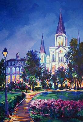 Saint Louis Artist Painting - New Orleans by Elaine Adel Cummins