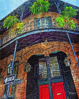 Photograph - New Orleans French Quarter Balcony - 1041 Ursulines by Rebecca Korpita
