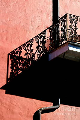 Photograph - New Orleans French Quarter Balcony Illusion by Michael Hoard