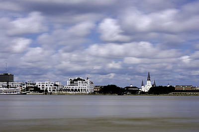 Photograph - New Orleans From Algiers Point - In Color by Chris Coffee