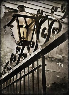 Nola Photograph - New Orleans Gaslight by Beth Riser
