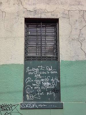 Photograph - New Orleans Graffiti Social Messages Speak Loud And Clear Do You Sing by Michael Hoard