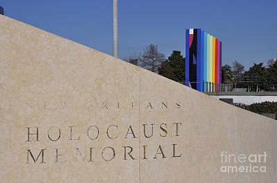 Photograph - New Orleans Holocaust Memorial by Andrew Dinh