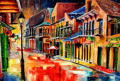 New Orleans Jive Art Print by Diane Millsap