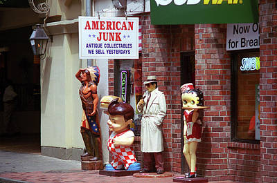 Photograph - New Orleans Junk Shop 2004 by Frank Romeo